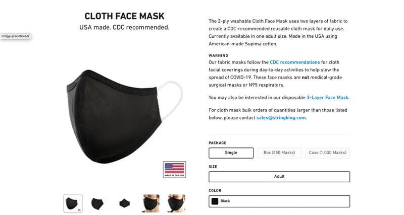 Where to Find Cloth Face Masks - Image 11