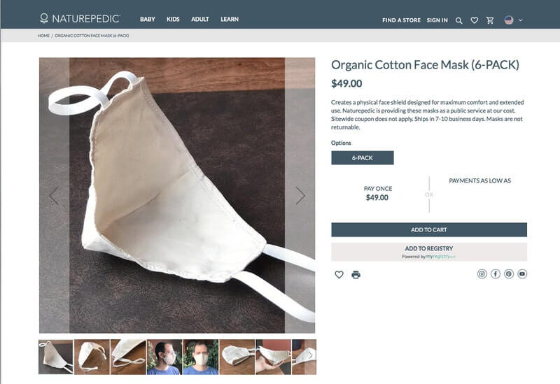 Where to Find Cloth Face Masks - Image 8